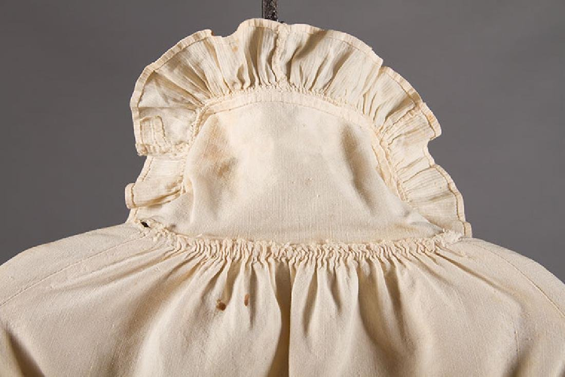 2 LADIES' COTTON SACQUES, EARLY 19TH C - 3