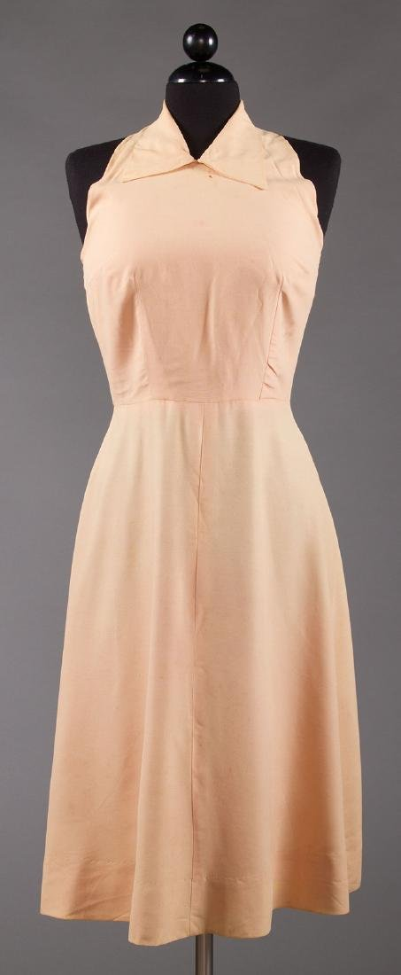 ORCHID SILK AFTERNOON DRESS, 1930s - 8