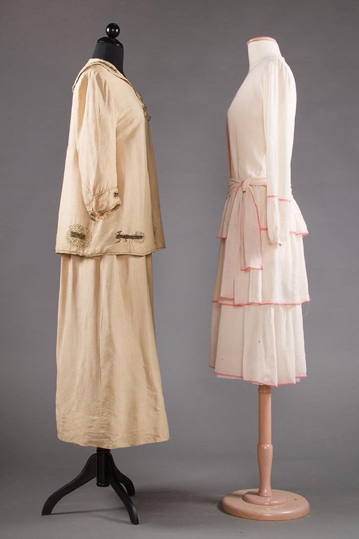 2 SUMMER DAY DRESSES, 1916-1920 - 2
