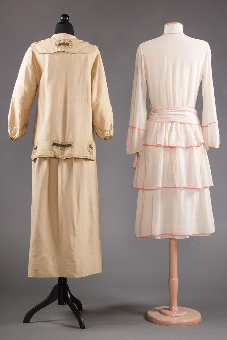 2 SUMMER DAY DRESSES, 1916-1920 - 3