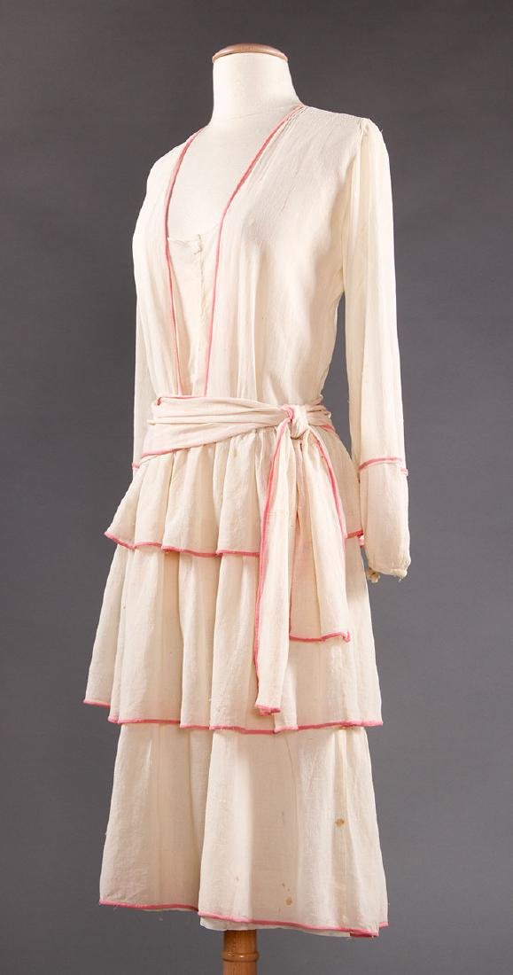 2 SUMMER DAY DRESSES, 1916-1920 - 8