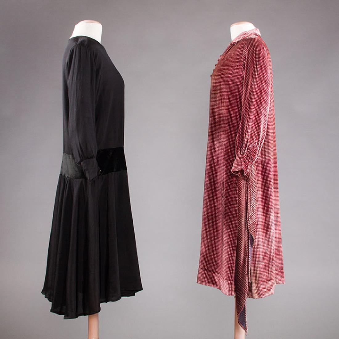 1 AFTERNOON & 1 DINNER DRESS, 1920s - 2