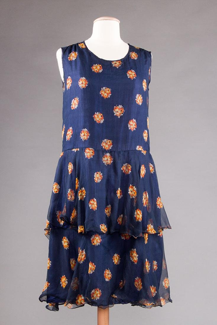 2 PRINTED DRESSES: 1 DAY & 1 PARTY, 1920s - 4