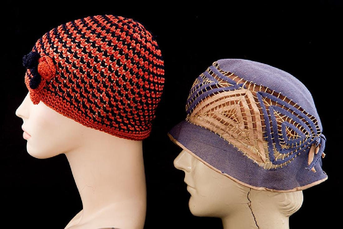4 DAY HATS, 1920-1930s - 2