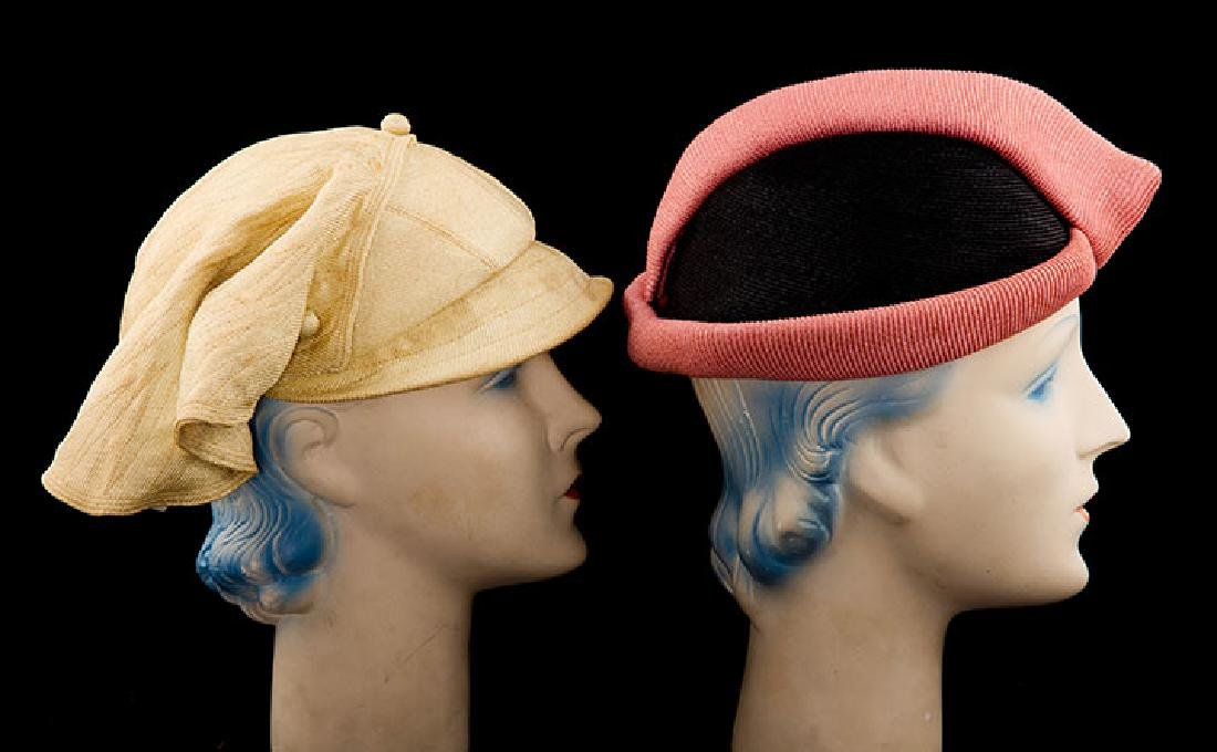 4 DAY HATS, 1920-1930s - 3