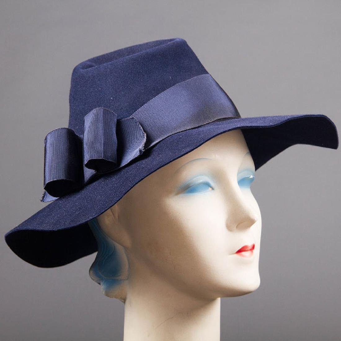 4 DAY HATS, 1940s - 4