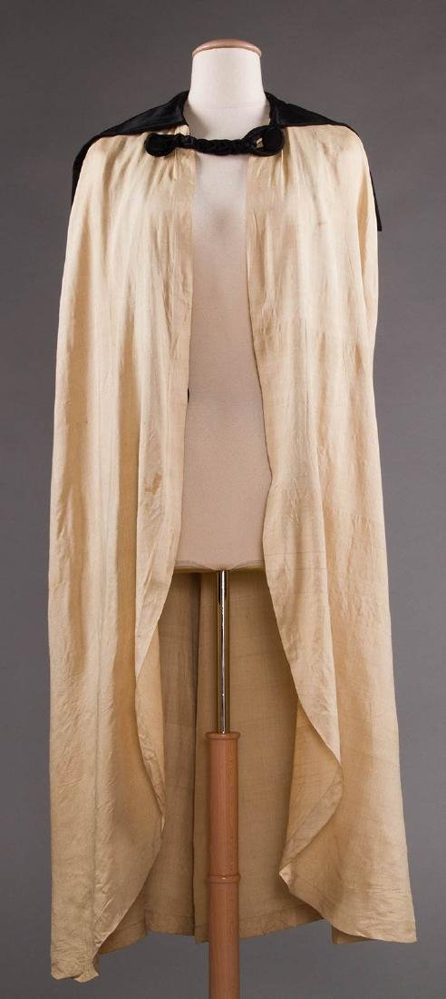 LIBERTY LONG SILK CAPE, EARLY 20TH C