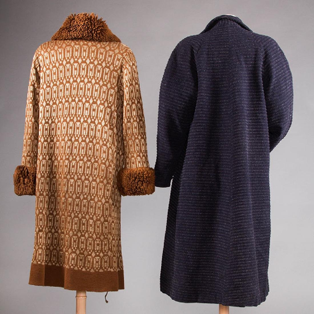 2 WOOL DAY COATS, 1920s & 1930s - 3