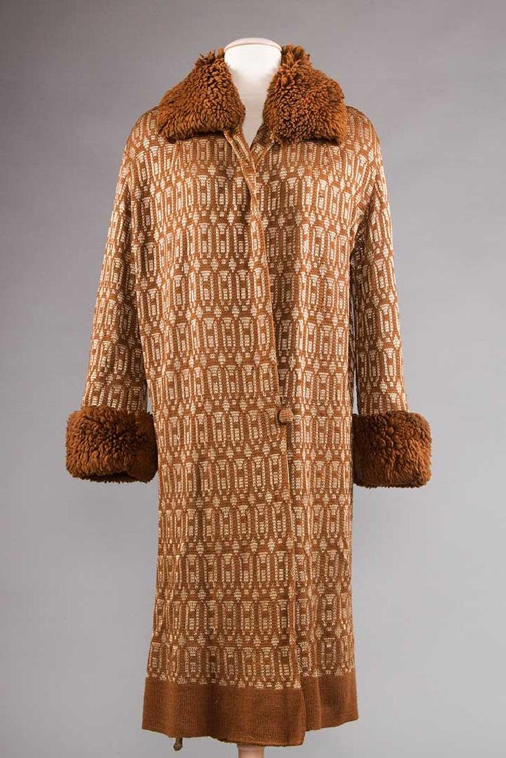 2 WOOL DAY COATS, 1920s & 1930s - 4