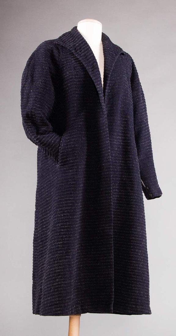 2 WOOL DAY COATS, 1920s & 1930s - 5