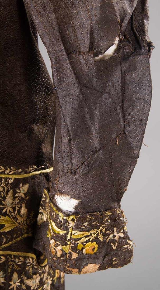 MAN'S EMBROIDERED FROCK COAT, c. 1780 - 10