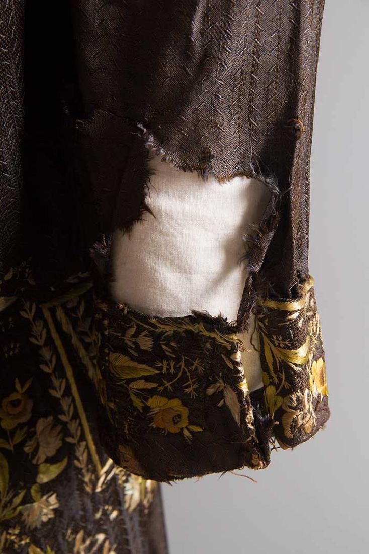 MAN'S EMBROIDERED FROCK COAT, c. 1780 - 9