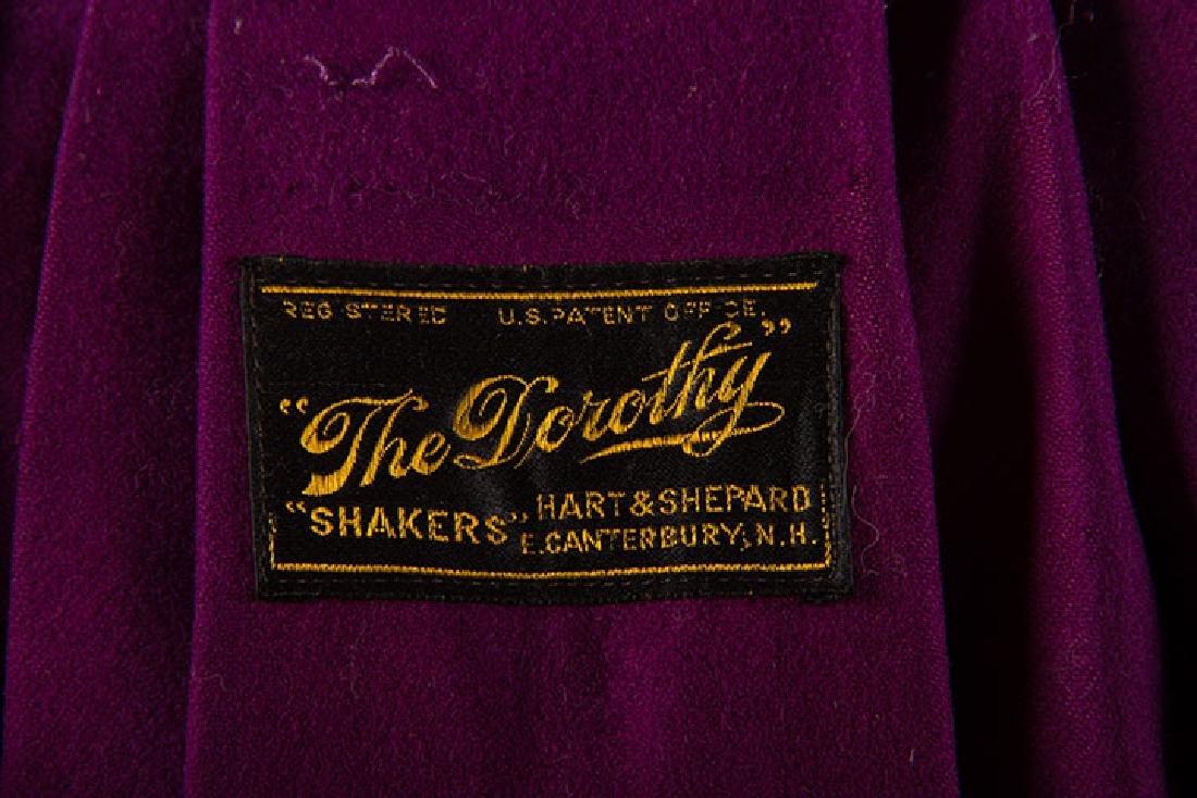 "SHAKER ""DOROTHY"" CAPE, E. CANTERBURY, N.H. - 8"