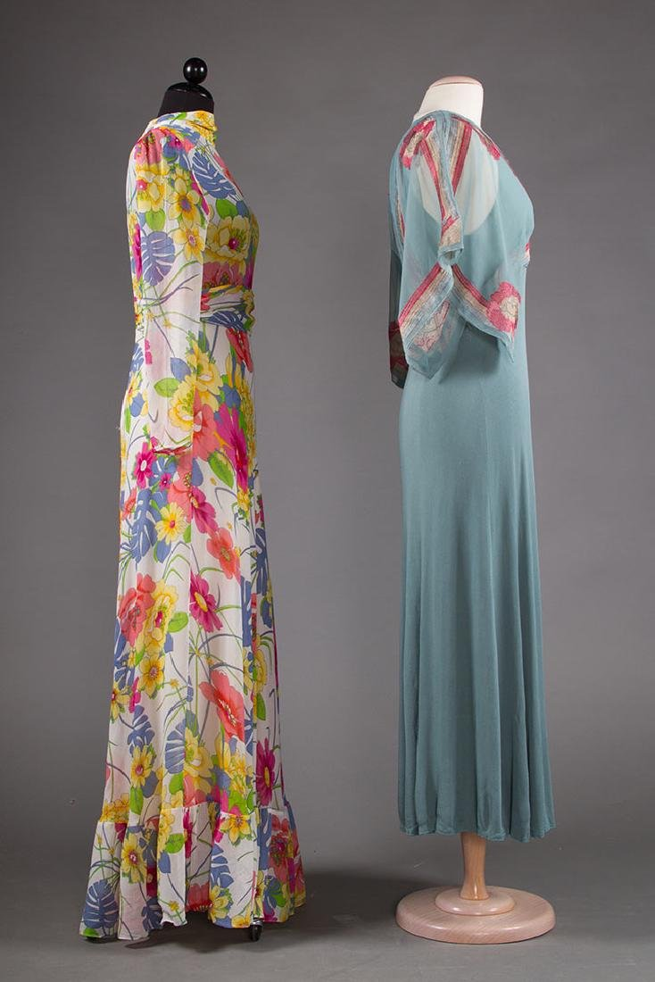 JANICE WAINRIGHT MAXI-DRESS, ENGLAND, 1970s - 2