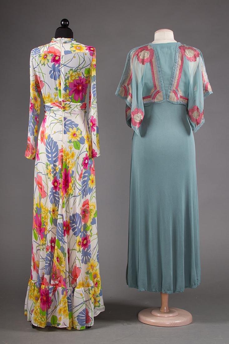JANICE WAINRIGHT MAXI-DRESS, ENGLAND, 1970s - 3