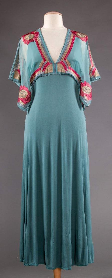 JANICE WAINRIGHT MAXI-DRESS, ENGLAND, 1970s - 6