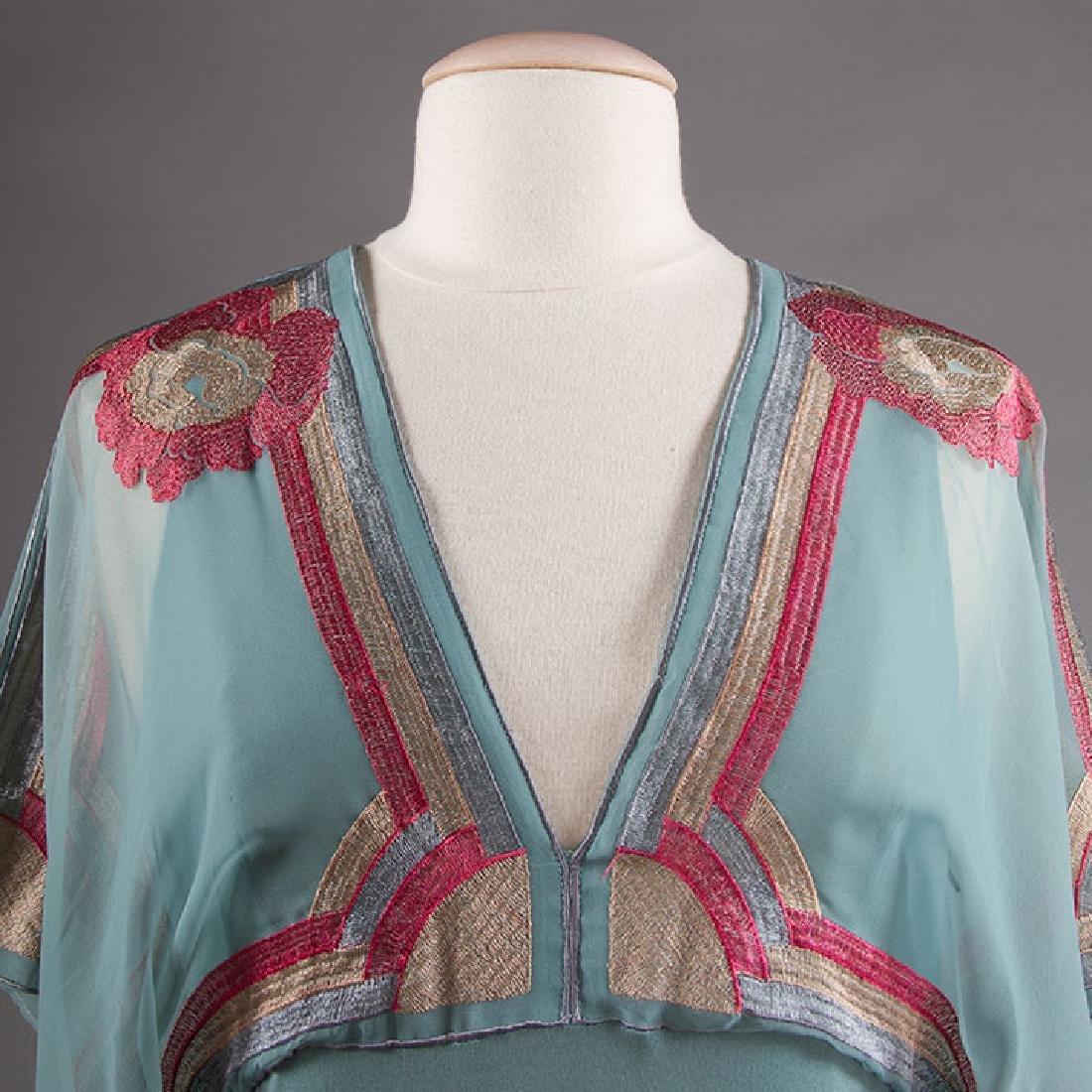 JANICE WAINRIGHT MAXI-DRESS, ENGLAND, 1970s - 7