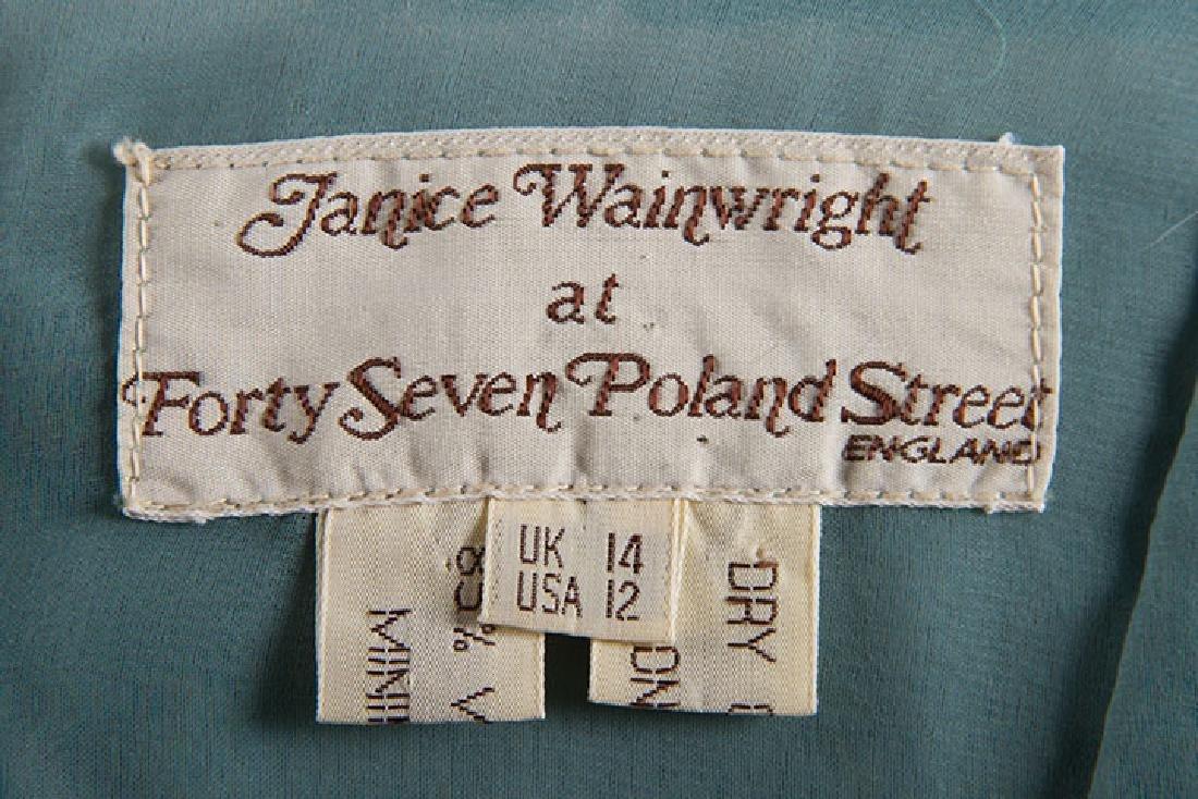 JANICE WAINRIGHT MAXI-DRESS, ENGLAND, 1970s - 9