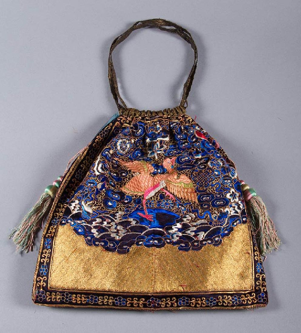 RANK BADGE HAND BAG, CHINA