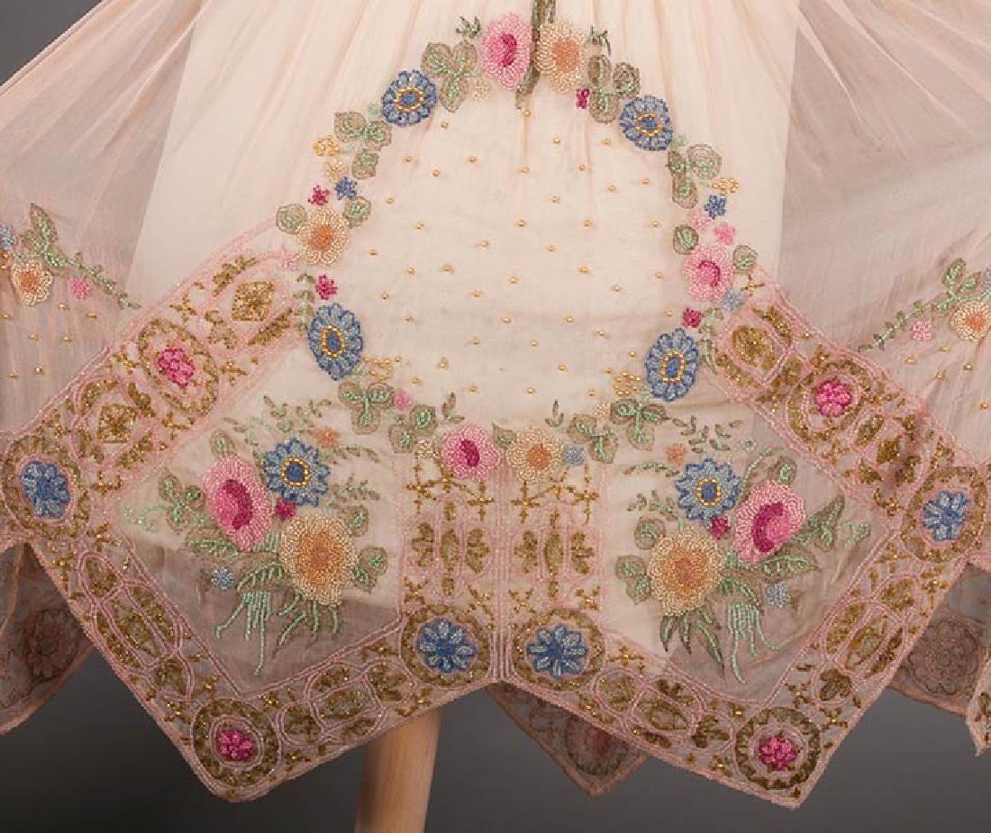 BEADED PALE PINK PARTY DRESS, 1920s - 6