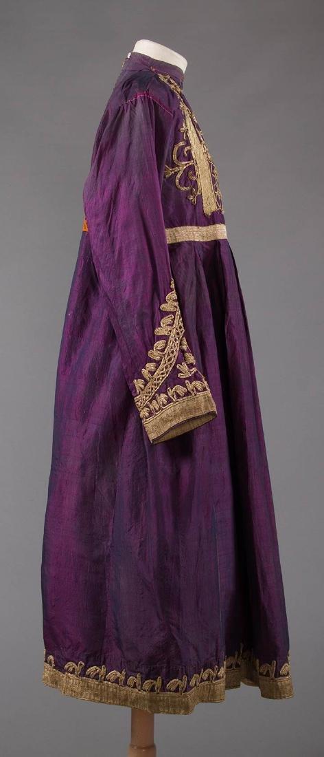 PURPLE & GOLD ETHNIC DRESS - 2