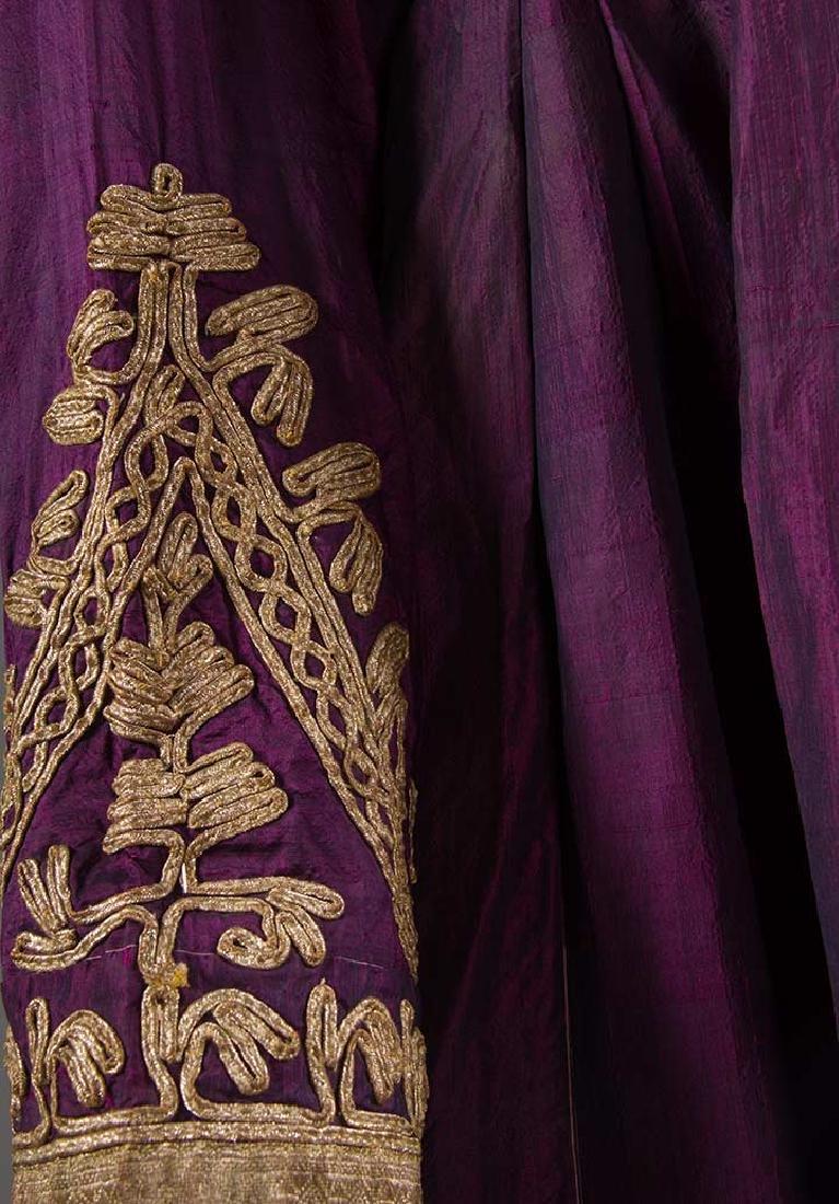 PURPLE & GOLD ETHNIC DRESS - 6