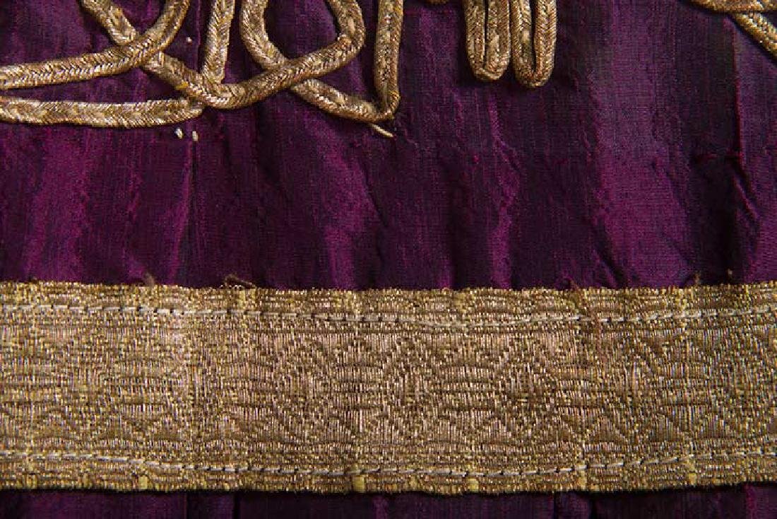 PURPLE & GOLD ETHNIC DRESS - 7