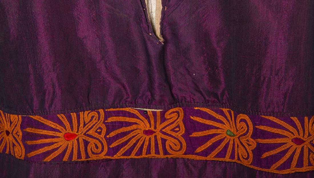 PURPLE & GOLD ETHNIC DRESS - 8