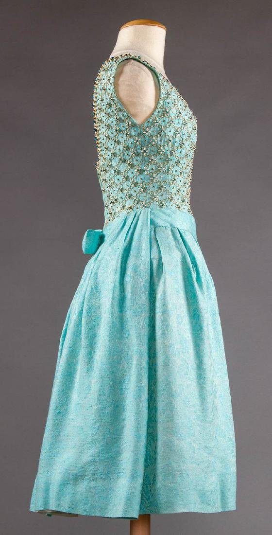 STEIBEL COUTURE PARTY DRESS, LONDON, c. 1960 - 3