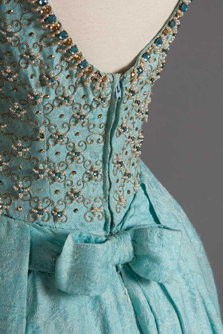 STEIBEL COUTURE PARTY DRESS, LONDON, c. 1960 - 6