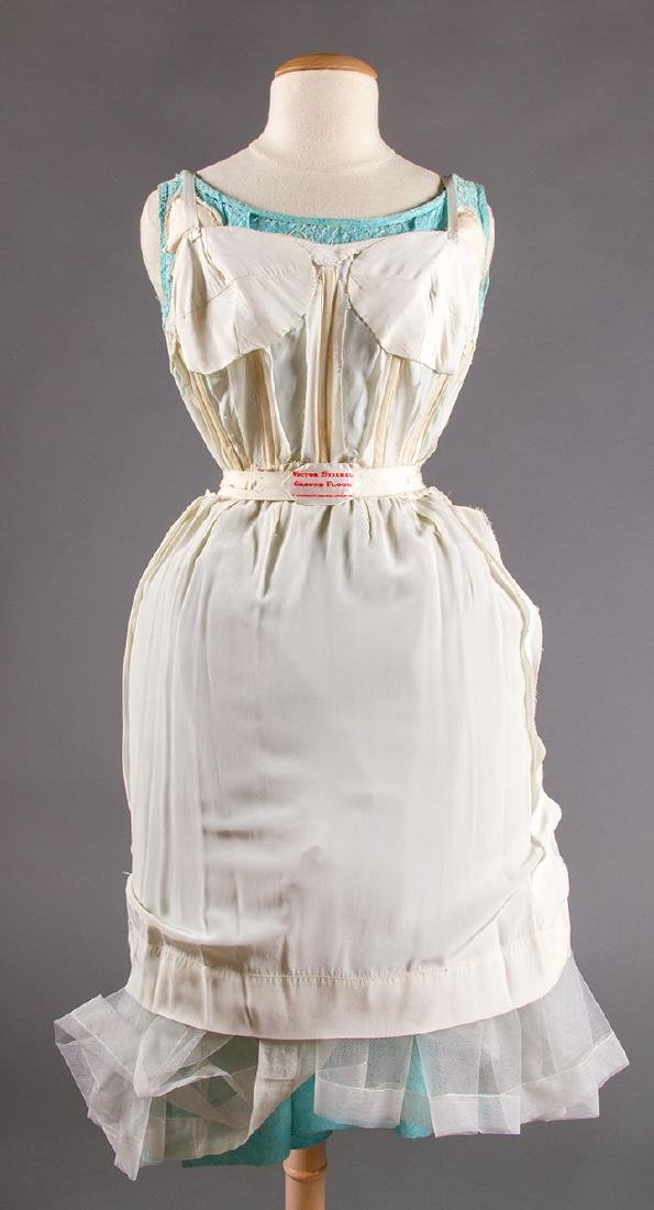 STEIBEL COUTURE PARTY DRESS, LONDON, c. 1960 - 9