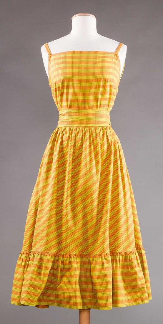 CLAIRE McCARDELL SUN DRESS, 1950s