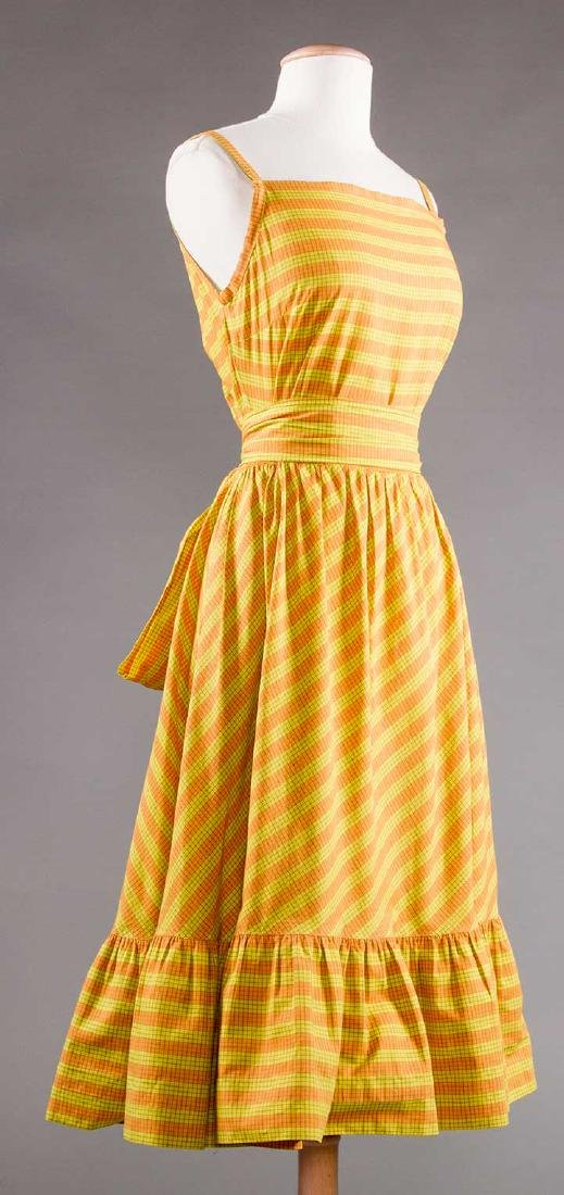 CLAIRE McCARDELL SUN DRESS, 1950s - 2