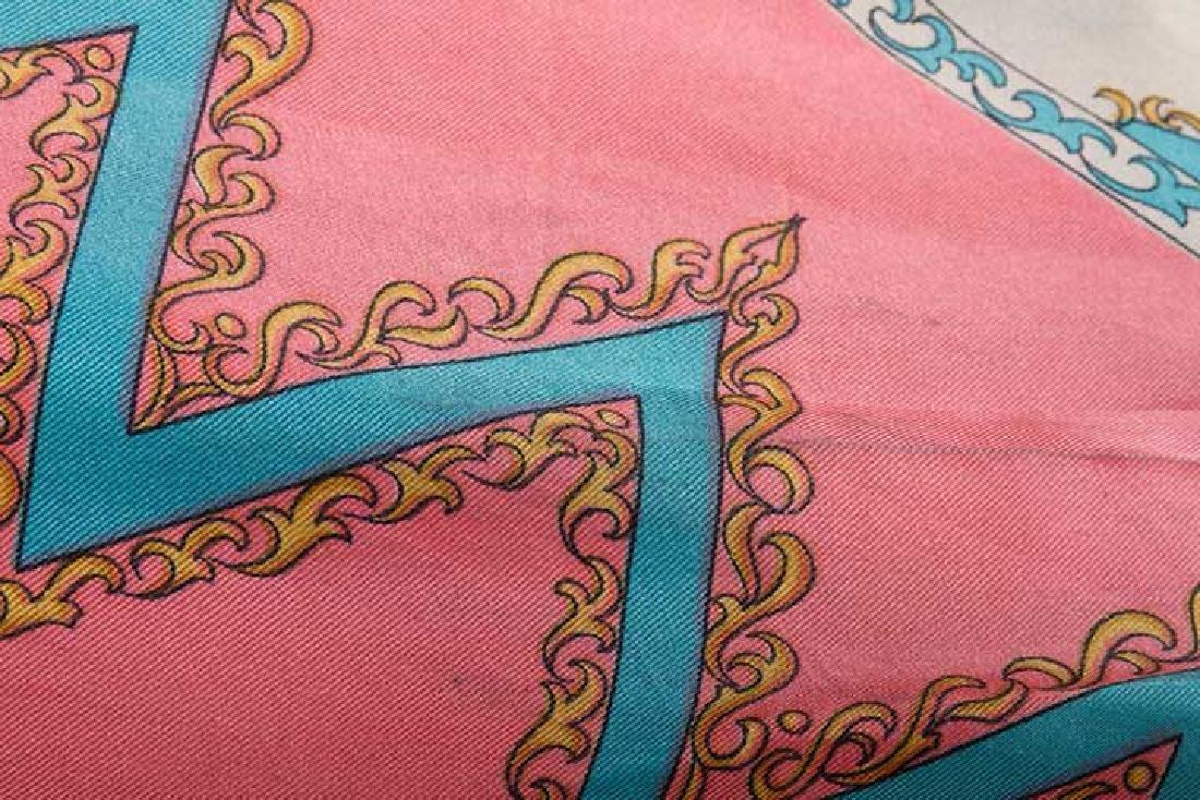 PUCCI SILK BLOUSE & SILK WRAP DRESS, 1970s - 4