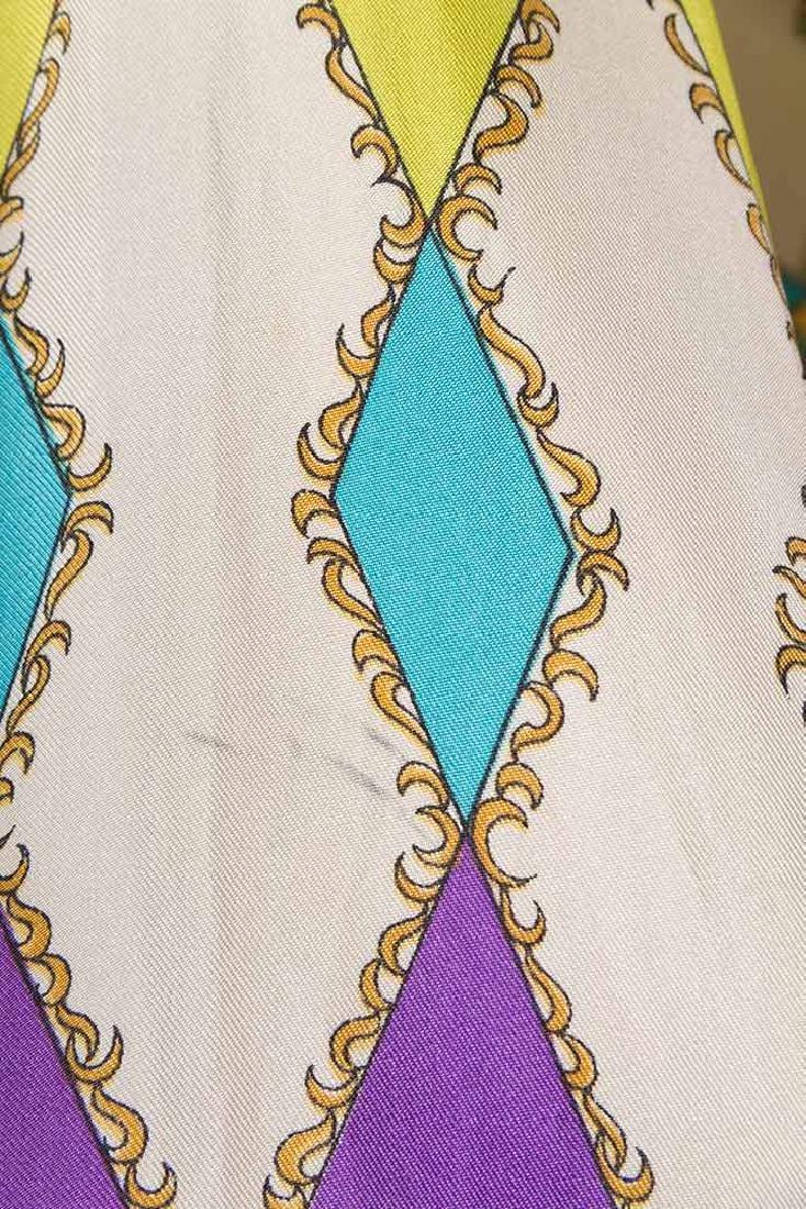 PUCCI SILK BLOUSE & SILK WRAP DRESS, 1970s - 5