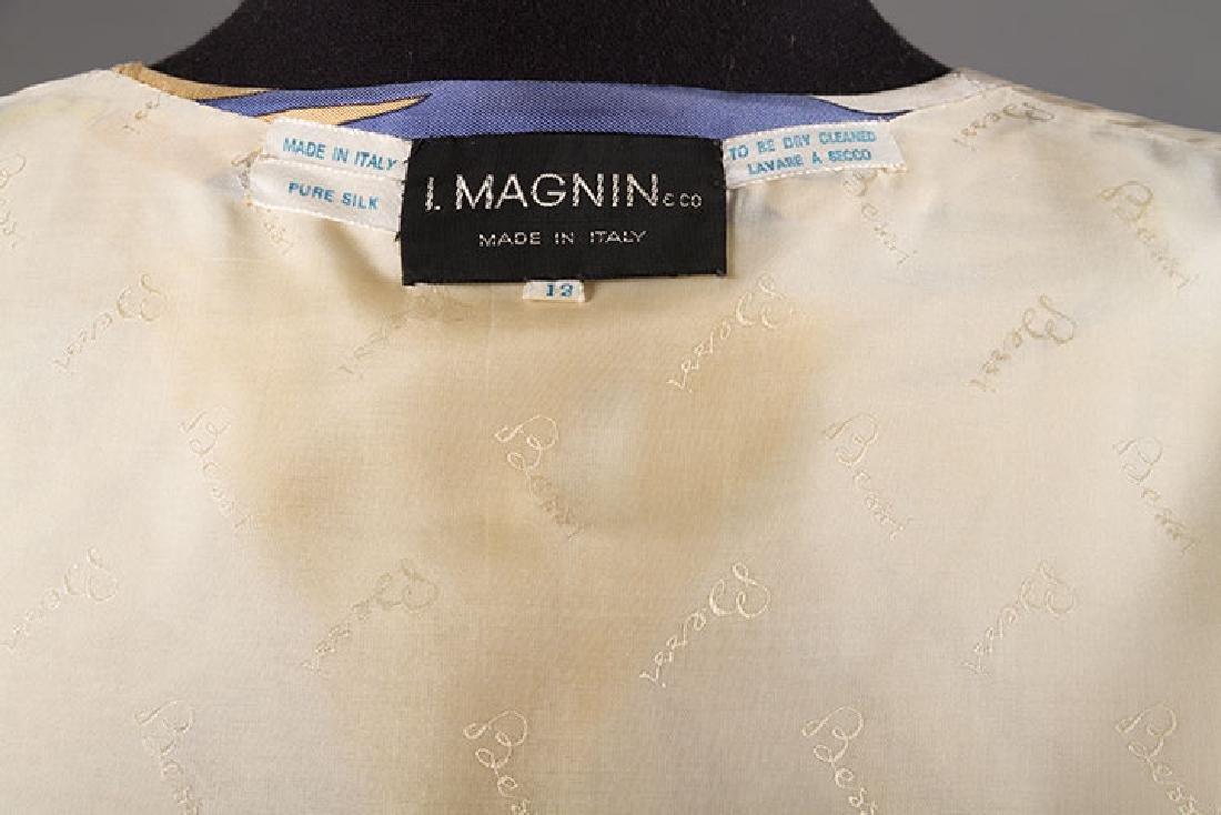 PUCCI SILK BLOUSE & SILK WRAP DRESS, 1970s - 9