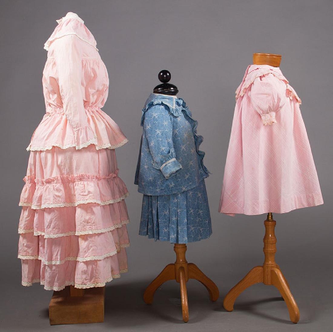 1 BOY'S & 2 GIRL'S DRESSES, 1880-1900 - 2