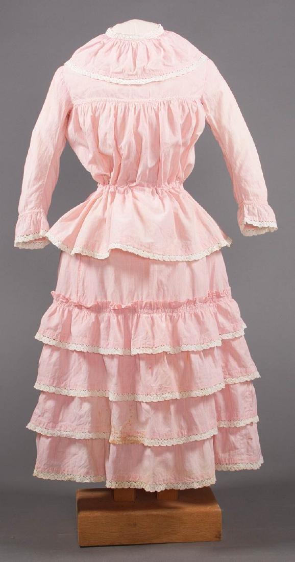 1 BOY'S & 2 GIRL'S DRESSES, 1880-1900 - 4