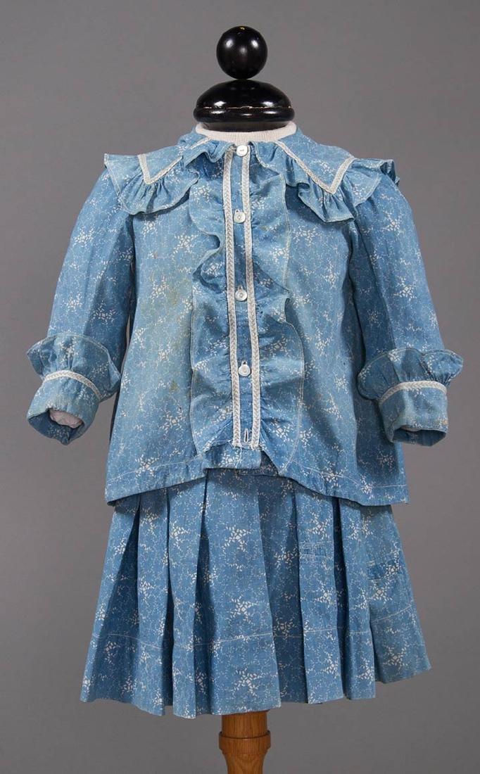 1 BOY'S & 2 GIRL'S DRESSES, 1880-1900 - 6