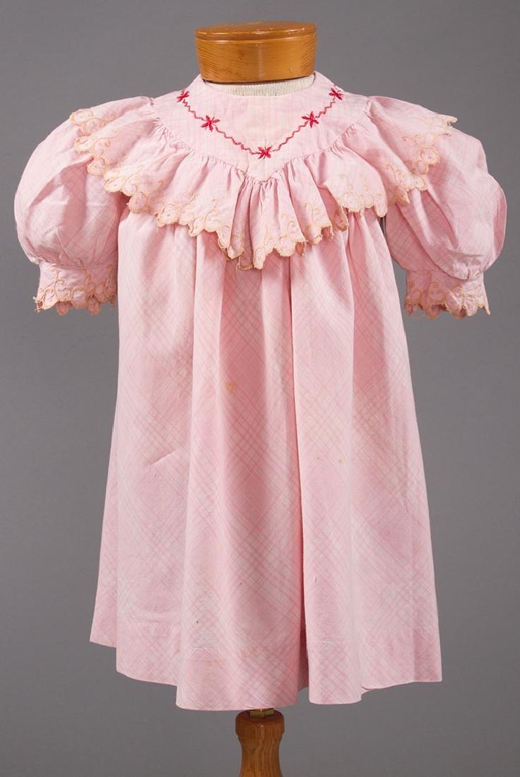 1 BOY'S & 2 GIRL'S DRESSES, 1880-1900 - 8