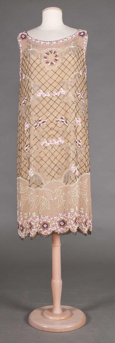 BEADED FLAPPER DRESS, 1920s