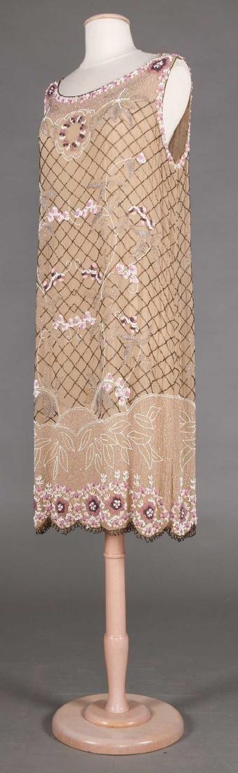 BEADED FLAPPER DRESS, 1920s - 2