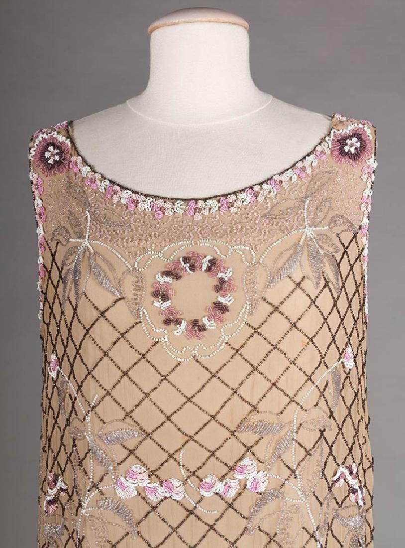 BEADED FLAPPER DRESS, 1920s - 5