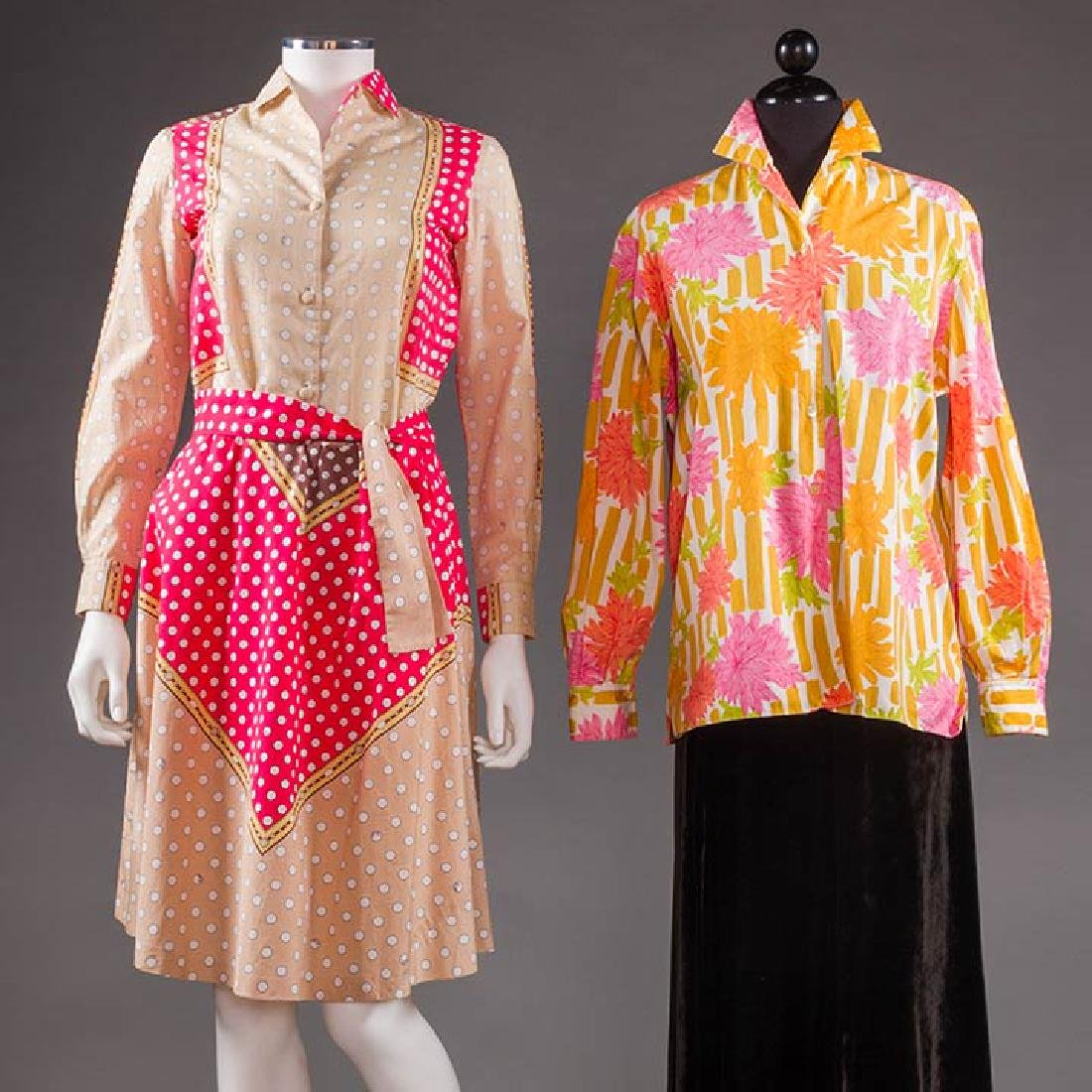 TWO PUCCI GARMENTS, 1960s