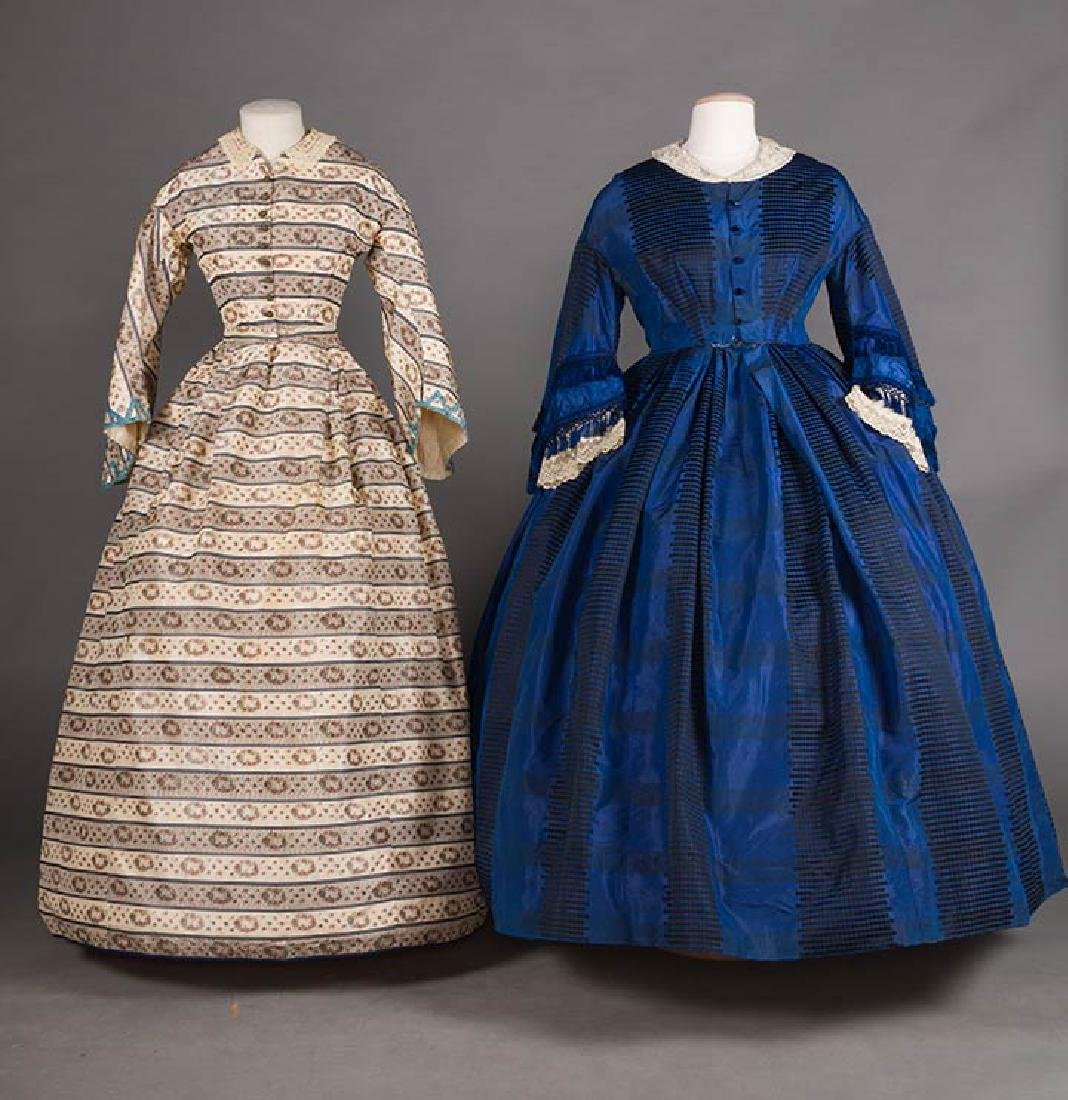 TWO CIVIL WAR DRESSES