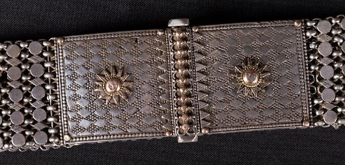 SOLID SILVER WEDDING BELT, MIDDLE EAST - 2