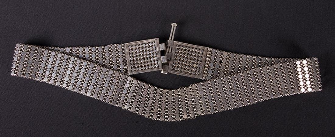 SOLID SILVER WEDDING BELT, MIDDLE EAST - 3
