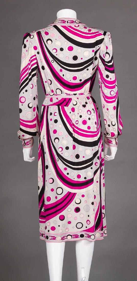 RASPBERRY PUCCI DRESS, 1970s - 4