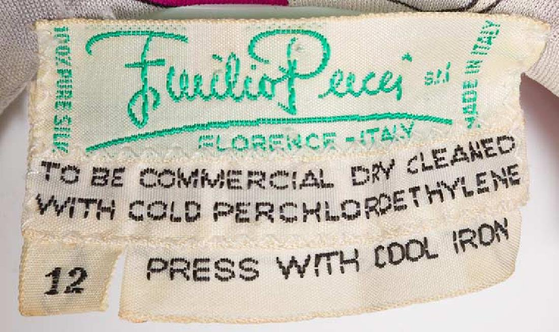 RASPBERRY PUCCI DRESS, 1970s - 8