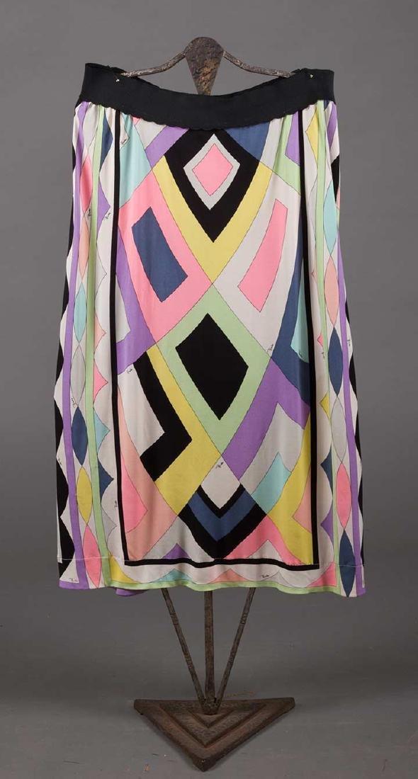 RASPBERRY PUCCI DRESS, 1970s - 9